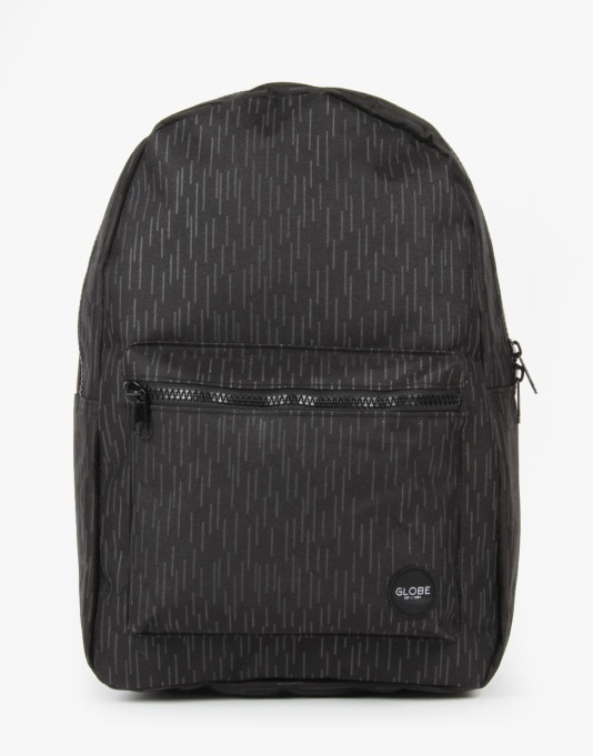 Globe Dux Deluxe Backpack - Black Rain