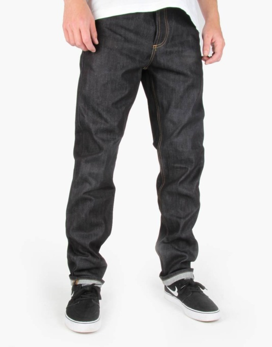 Carhartt Texas Pant II 'Merced' Blue Denim - Blue Rigid