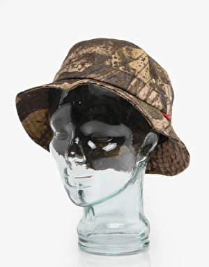 Acapulco Gold Real Leaf Bucket Hat - Khaki
