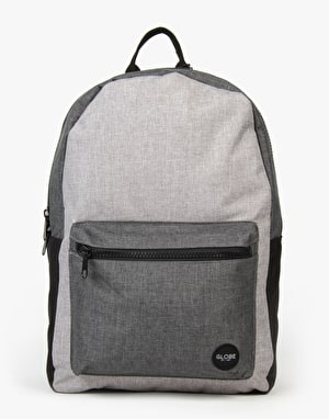 Globe Dux Deluxe Backpack - Grey/Charcoal
