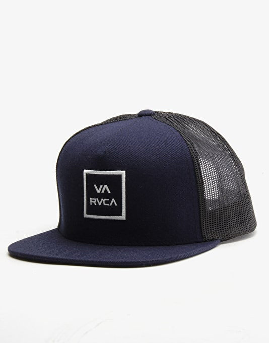RVCA VA All The Way Trucker Cap - Navy