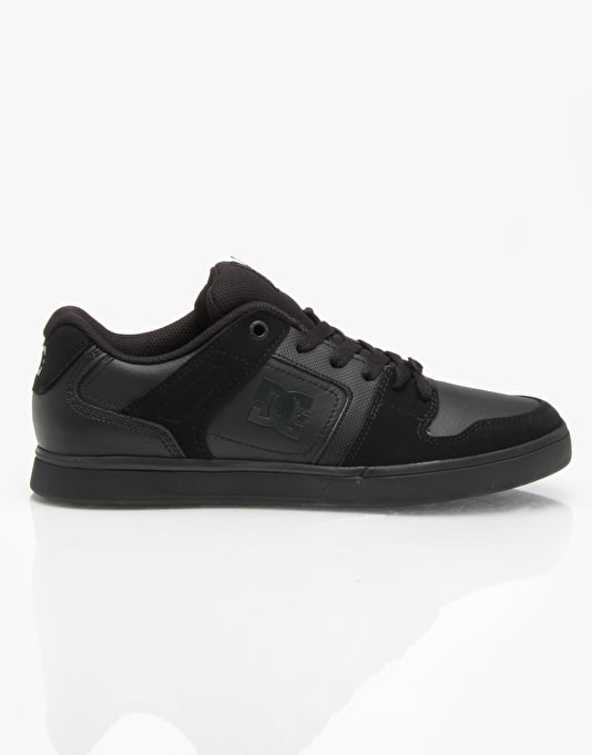 DC Static Skate Shoes - Pirate Black/Black