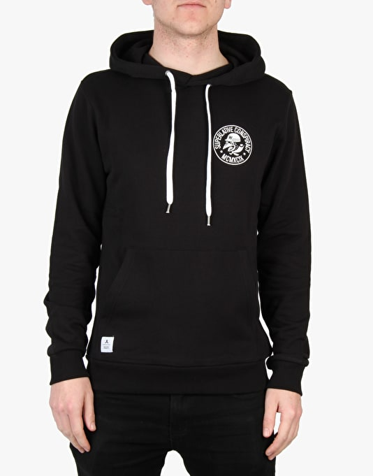 WeSC Mopedoz Pullover Hoodie - Black