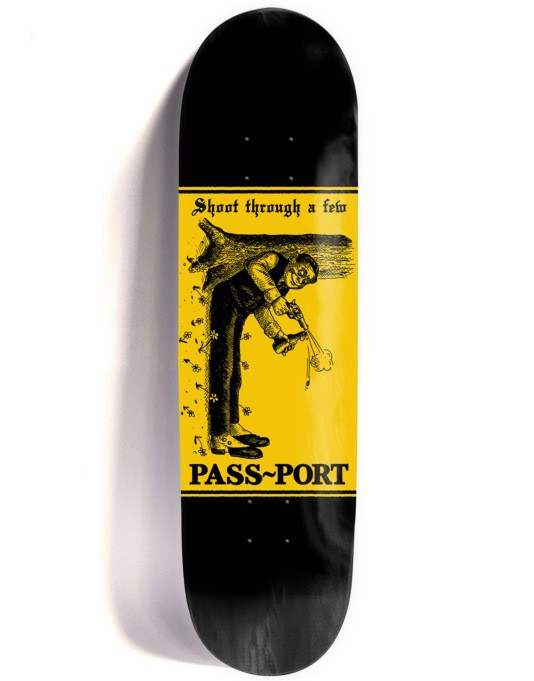Pass Port Mixed Messages - Shoot Team Deck - 8.25""