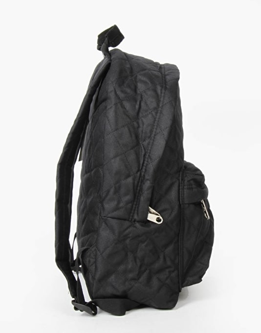 Hype Quilted Backpack - Black