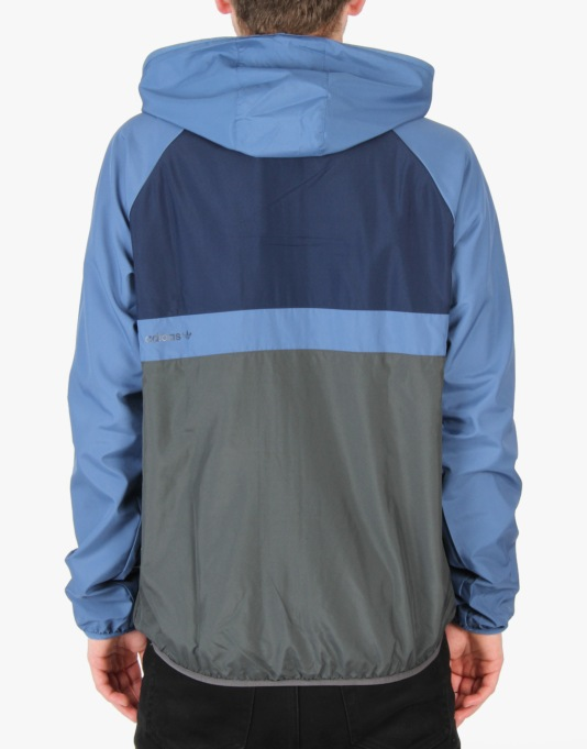 Adidas ADV Wind Jacket - Ash Blue/Collegiate Navy