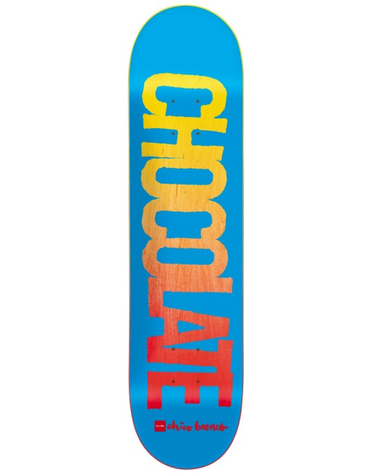 Chocolate Brenes Flyer Pro Deck - 8""