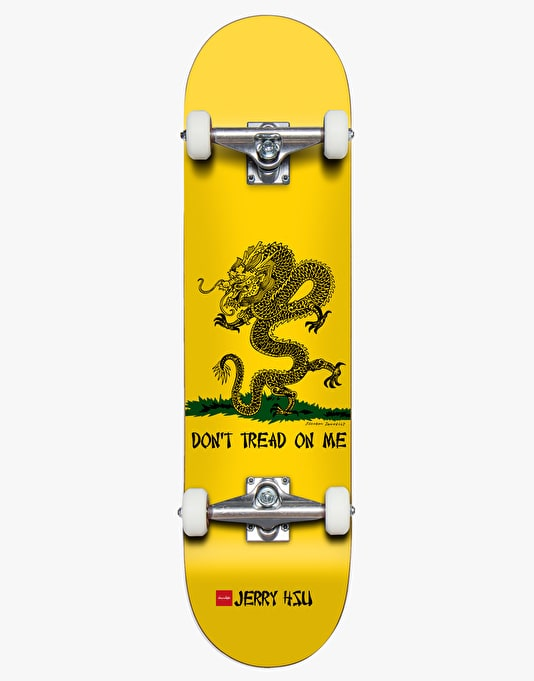 Chocolate Hsu Don't Tread on Me Complete Skateboard - 8""