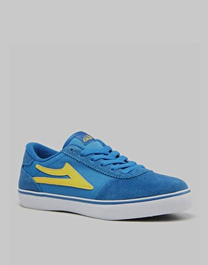 Lakai Manchester Boys Skate Shoes - Royal Suede