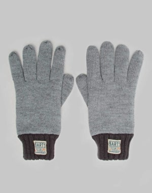 Barts Nadal Gloves - Heather Grey