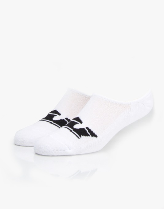 Supra No Show Socks 6 Pack - White