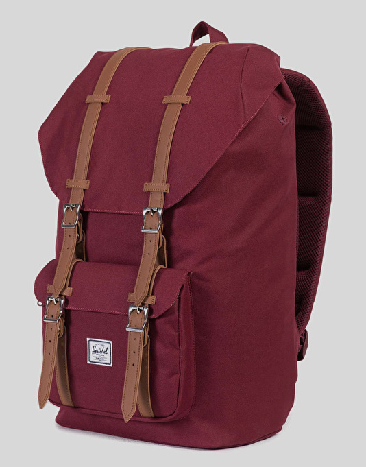 Herschel Supply Co. Little America Backpack - Windsor Wine/Tan