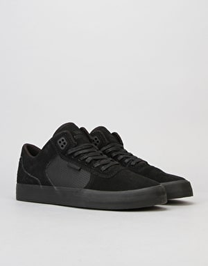 Supra Ellington Vulc Skate Shoes - Black/Black/Black
