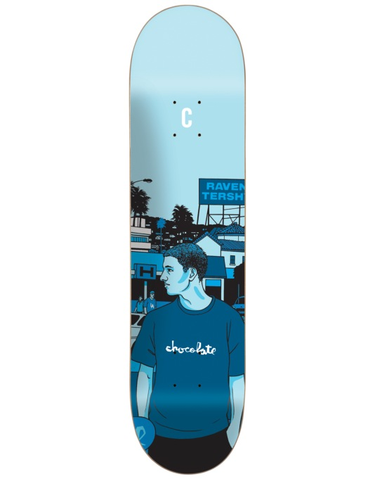Chocolate Tershy City Series Pro Deck - 8.5""