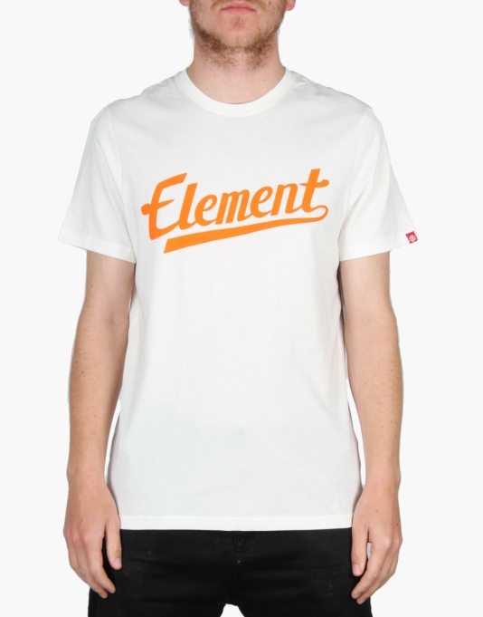 Element Signature T-Shirt - Off White