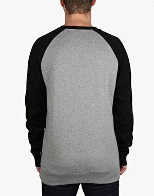 Kr3w Original Sweatshirt - Grey Heather/Black