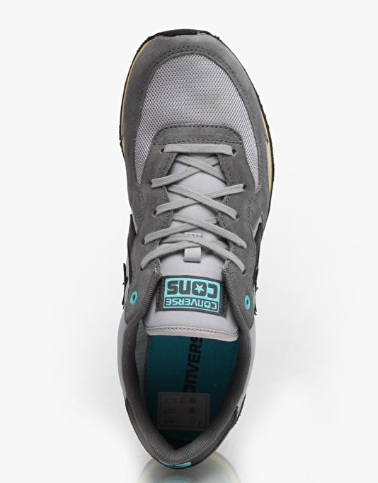 Converse Auckland Racer Shoes - Dolphin/Thunder/Black