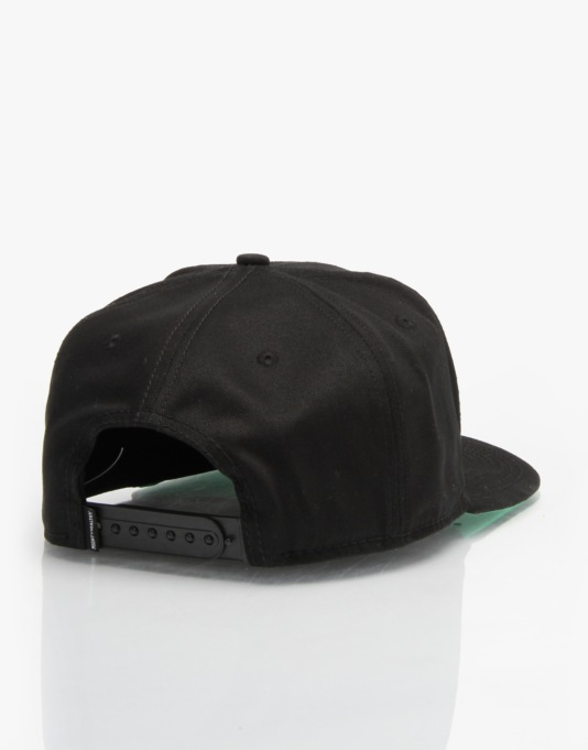 Mighty Healthy x Gino Iannucci Snapback Cap - Black