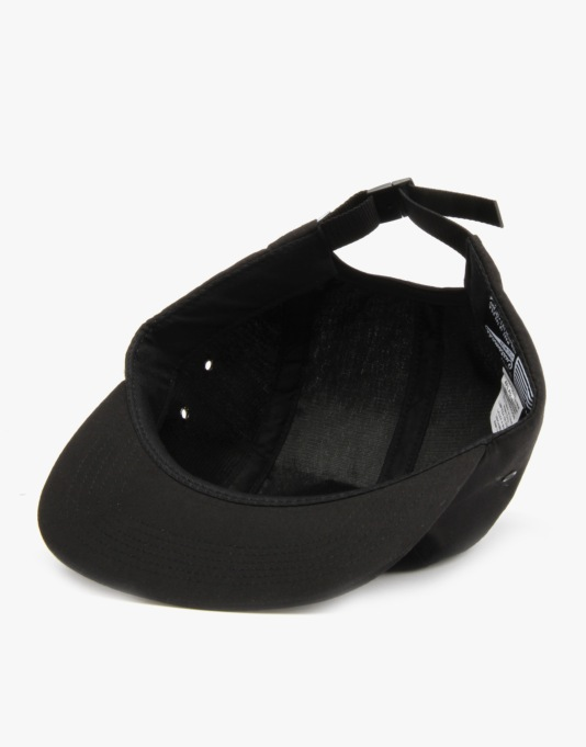 HUF Box Logo Volley 5 Panel Cap - Black