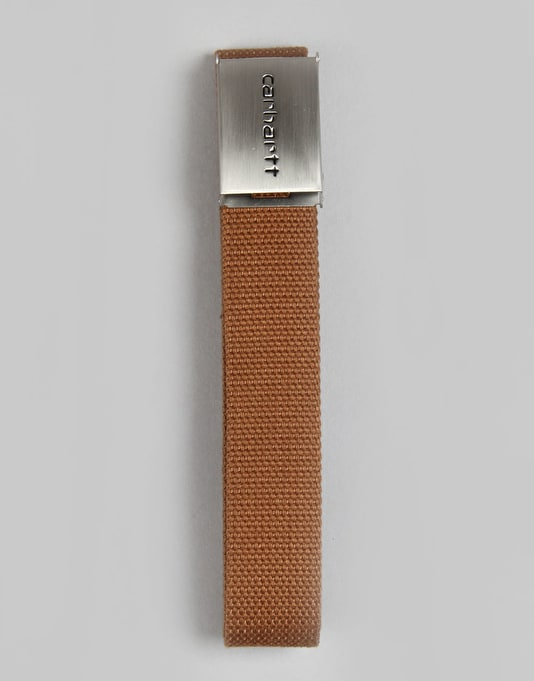 Carhartt Clip Chrome Web Belt - Hamilton Brown