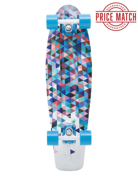 "Penny Skateboards Fresh Prints Nickel Cruiser - 27"" - Carlton"