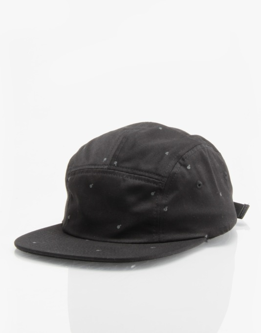 The Hundreds Sting 5 Panel Cap - Black
