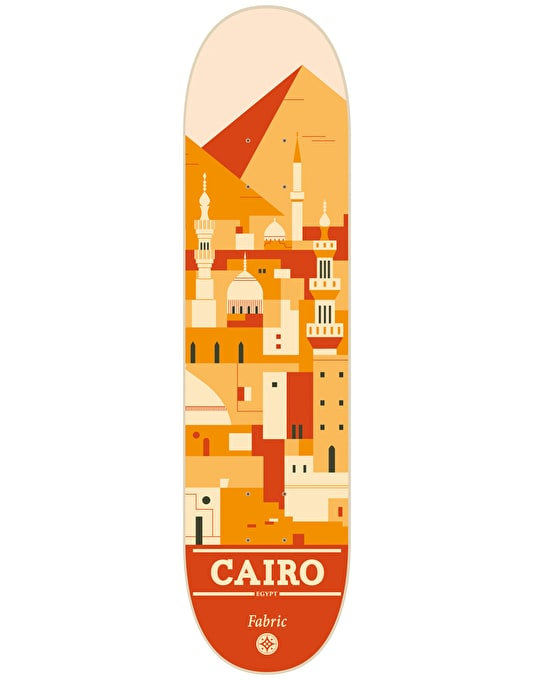 Fabric Cairo Travel Series Team Deck - 8""