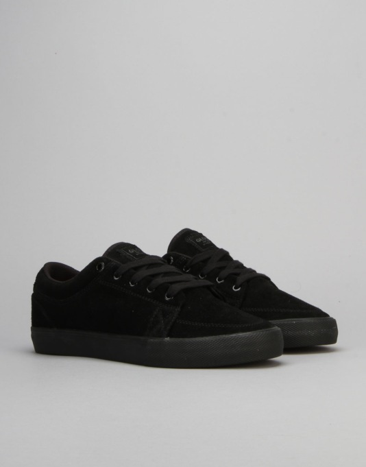 Globe GS Skate Shoes - Black Suede
