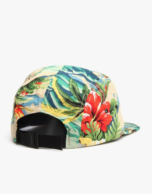 HUF Hawaiian Volley 5 Panel Cap - Tropical