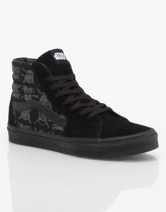 Vans x Star Wars Sk8-Hi Skate Shoes - Dark Slide/Darth Storm