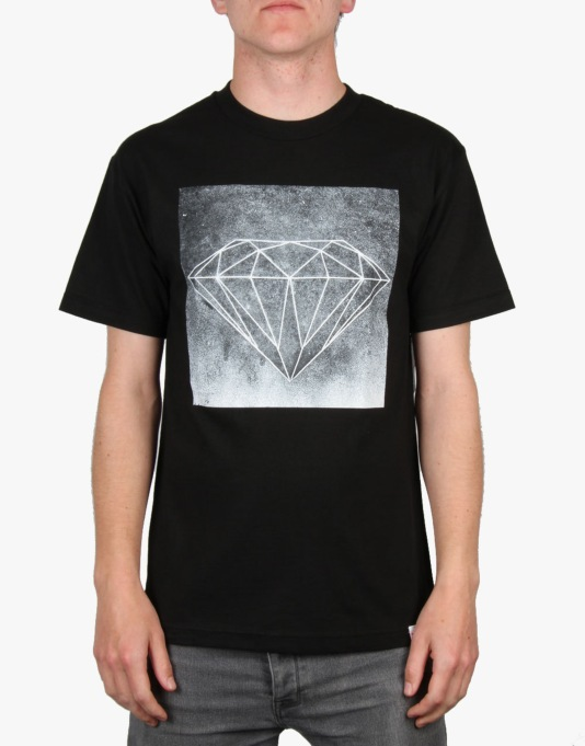 Diamond Supply Co. Chalk T-Shirt - Black