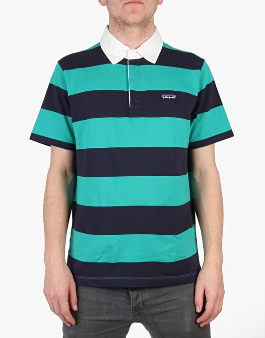 Patagonia Sender Rugby Shirt - Emerald