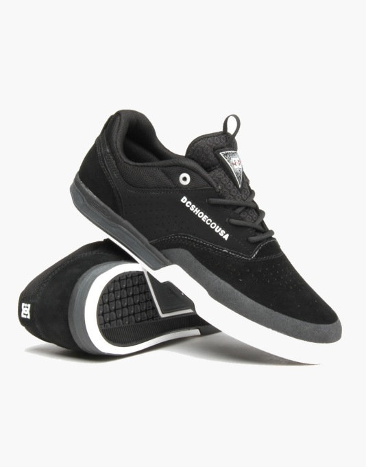 DC Cole Lite 3 S Skate Shoes - Black