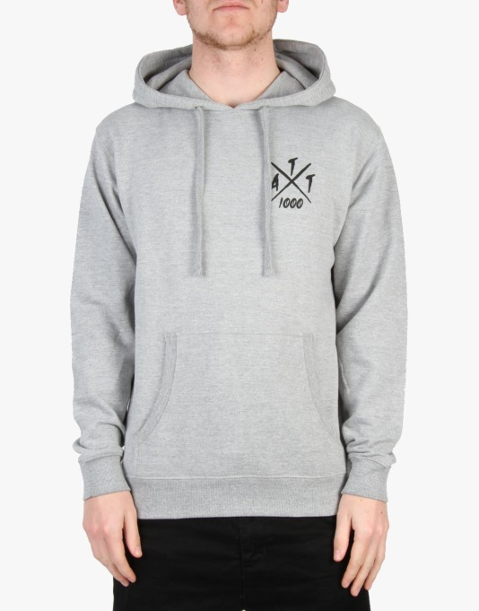 A Thousand Thankyous Rio Pullover Hoodie - Heather Grey