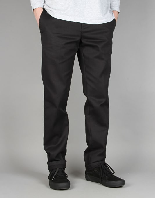 Dickies 872 Slim Tapered Work Pants - Black