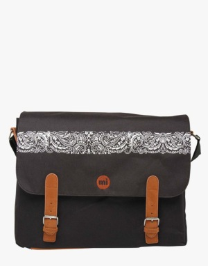 Mi-Pac Bandana Messenger Bag - Black