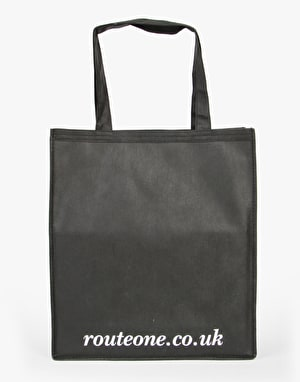 Route One Shopper Tote Bag - Black