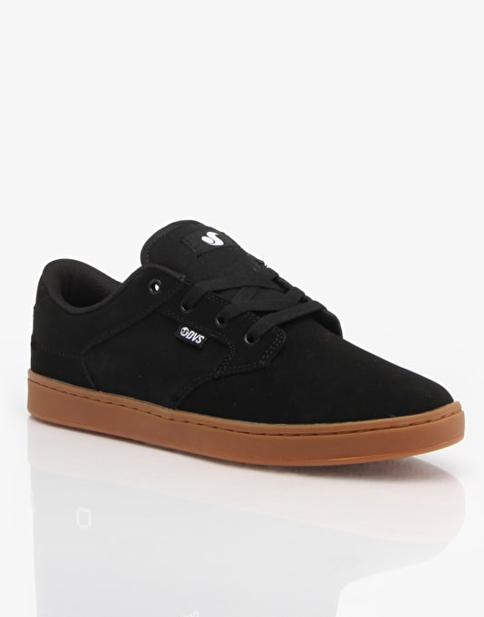 DVS Quentin Skate Shoes - Black Trubuck