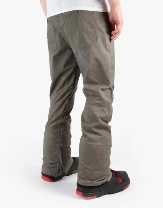 DC Relay 2015 Snowboard Pants - Pewter