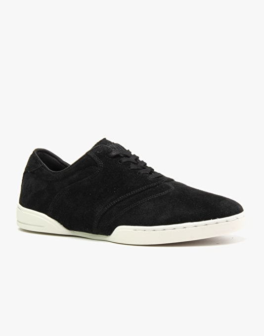 HUF Dylan Skate Shoes - Black/Bone White