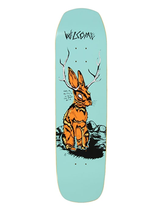 Welcome Jackalope on Helm Of Awe(sum) Team Deck - 8.4""