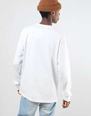 Carhartt L/S Pocket T-Shirt - White