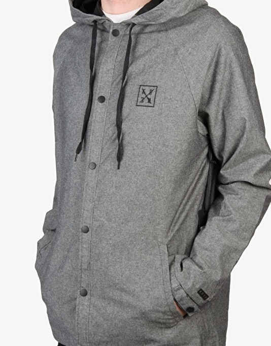 Kr3w Kr3wz Jacket - Grey Oxford