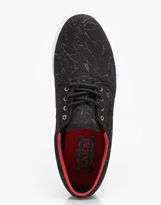 Lakai Camby Oasis Skate Shoes - Marble Canvas