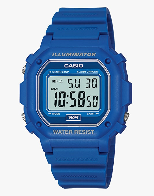 Casio F-108WH-2AEF - Blue