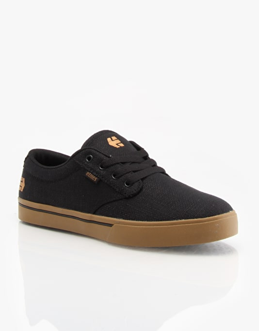 Etnies Jameson 2 Skate Shoes - Black/Brown/Green