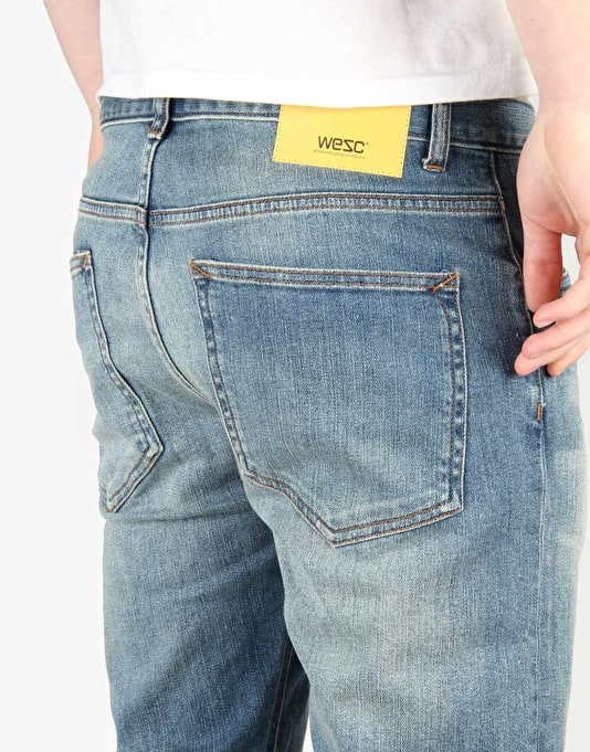 WeSC Eddy Denim Jeans - Washed Out
