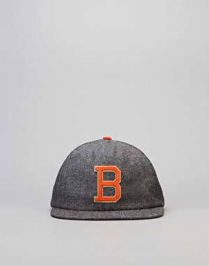 New Era MLB Baltimore Orioles Retro Pop Snapback Cap - Heather Grey