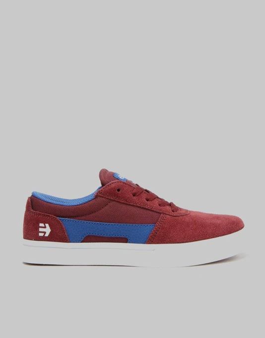 Etnies RCT Boys Skate Shoes - Red/Blue/White