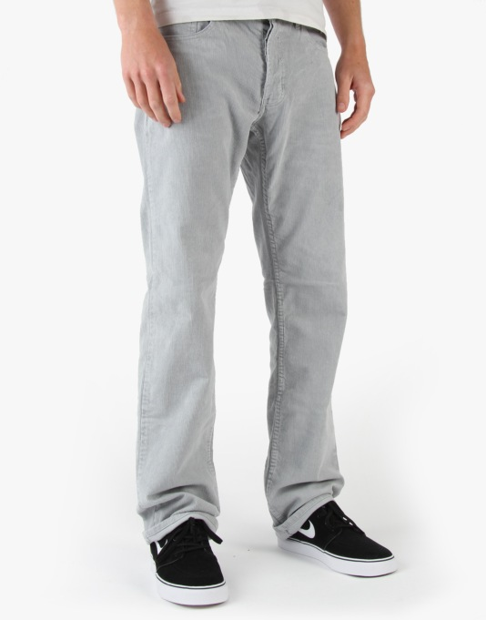 Fourstar Puig Sig. Cord Trousers - Lt. Grey Cord